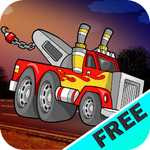 Tow Truck Racing : The towing emergency broken down car rescue - Free Edition